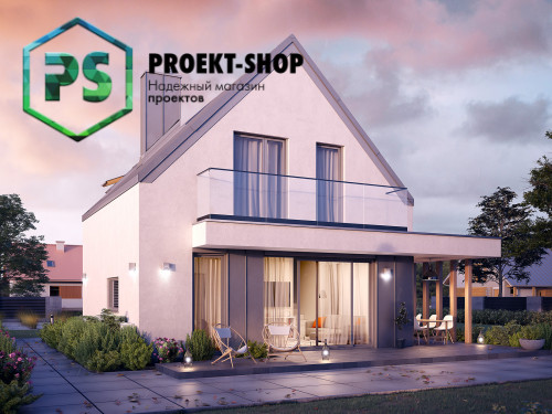 Типовой проект жилого дома 4-1785