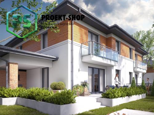 Типовой проект жилого дома 4-1786
