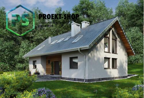 Типовой проект жилого дома 4-1788