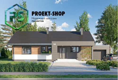 Типовой проект жилого дома 4-1789