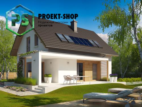 Типовой проект жилого дома 4-1791