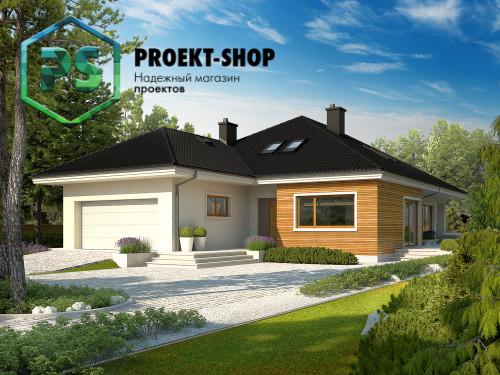 Типовой проект жилого дома 4-1796