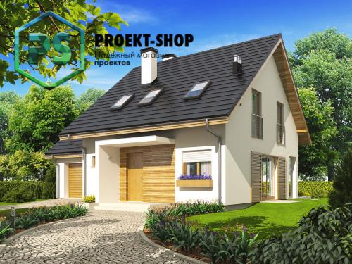 Типовой проект жилого дома 4-1797