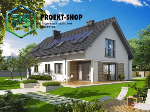 Типовой проект жилого дома 4-1798