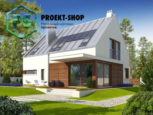 Типовой проект жилого дома 4-1799