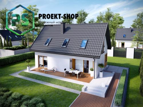 Типовой проект жилого дома 4-1800