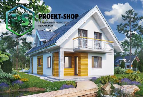 Типовой проект жилого дома 4-1802