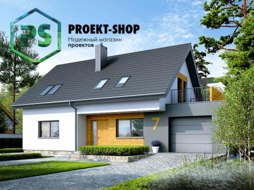 Типовой проект жилого дома 4-1803