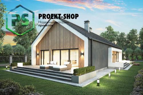 Типовой проект жилого дома 4-1816