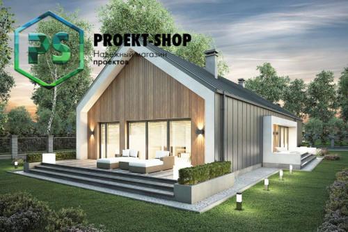 Типовой проект жилого дома 4-1817