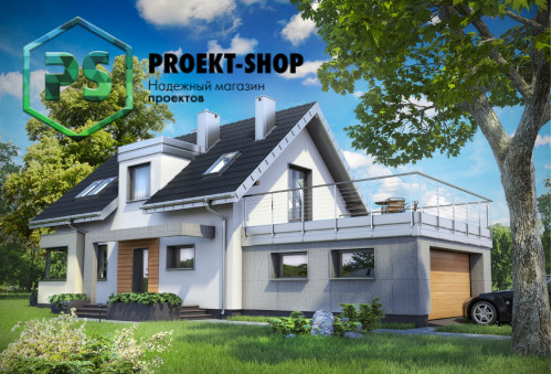 Типовой проект жилого дома 4-1839