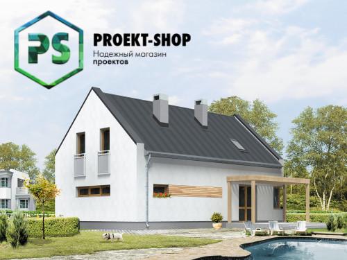 Типовой проект жилого дома 4-1849