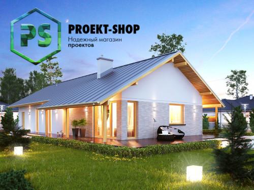 Типовой проект жилого дома 4-1852