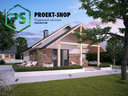 Типовой проект жилого дома 4-1853