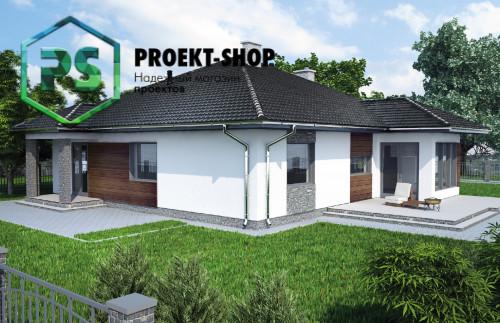 Типовой проект жилого дома 4-1860