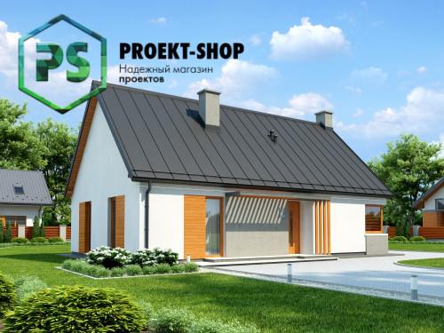 Типовой проект жилого дома 4-1865