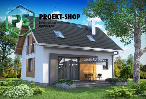 Типовой проект жилого дома 4-1866