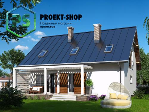 Типовой проект жилого дома 4-1867