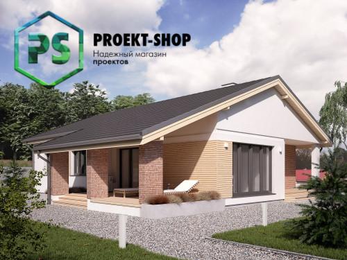Типовой проект жилого дома 4-1870