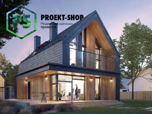 Типовой проект жилого дома 4-1872