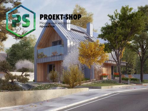 Типовой проект жилого дома 4-1873