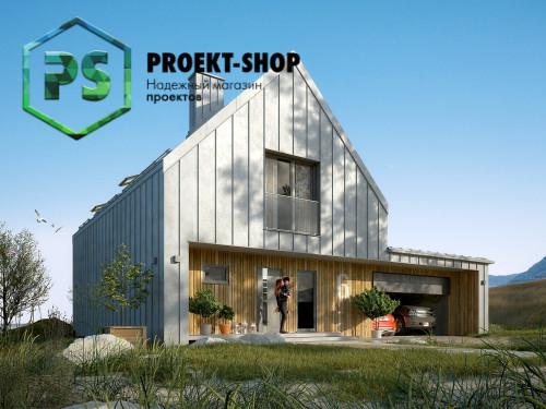 Типовой проект жилого дома 4-1874