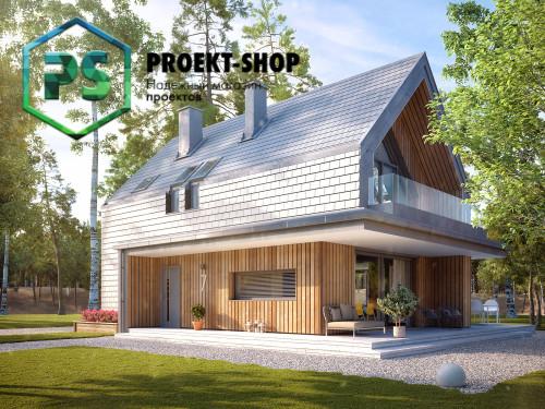 Типовой проект жилого дома 4-1876