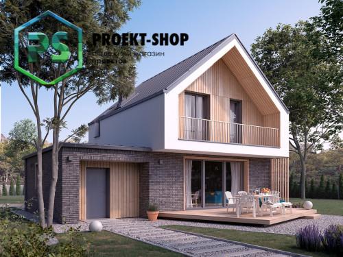 Типовой проект жилого дома 4-1880