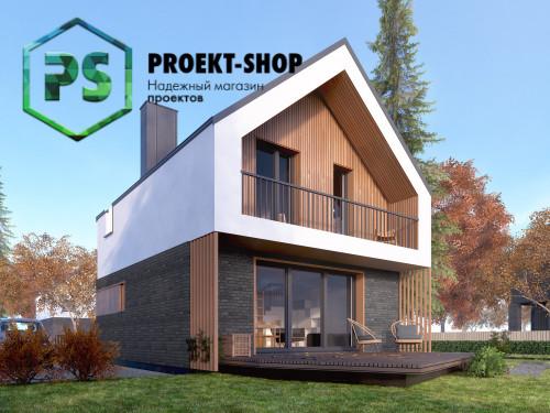 Типовой проект жилого дома 4-1881