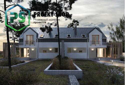 Типовой проект жилого дома 4-1885