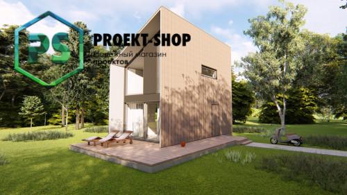 Типовой проект жилого дома 4-1973