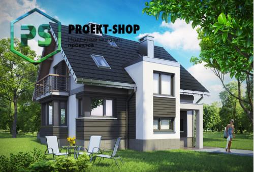 Типовой проект жилого дома 4-1992