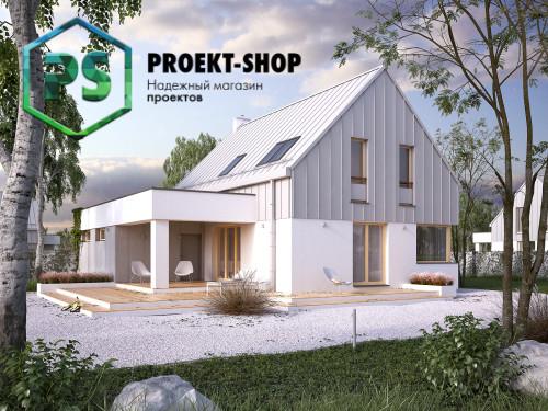 Типовой проект жилого дома 4-200
