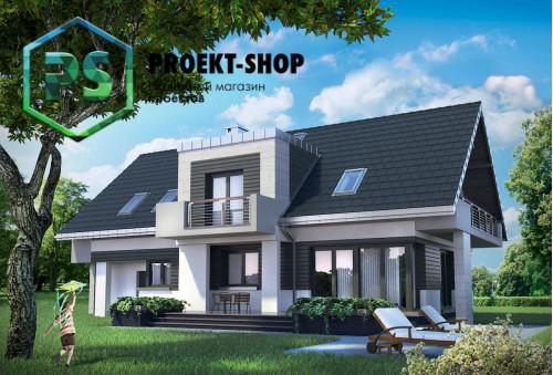 Типовой проект жилого дома 4-2014