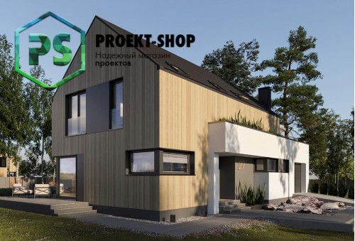 Типовой проект жилого дома 4-202