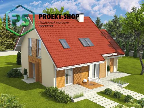Типовой проект жилого дома 4-2026
