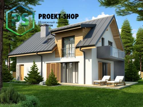 Типовой проект жилого дома 4-206