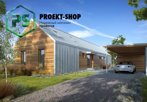 Типовой проект жилого дома 4-2183
