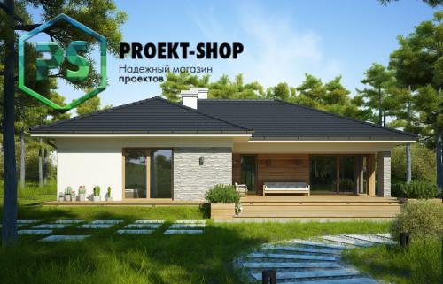 Типовой проект жилого дома 4-2189