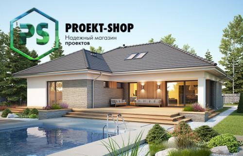 Типовой проект жилого дома 4-2191