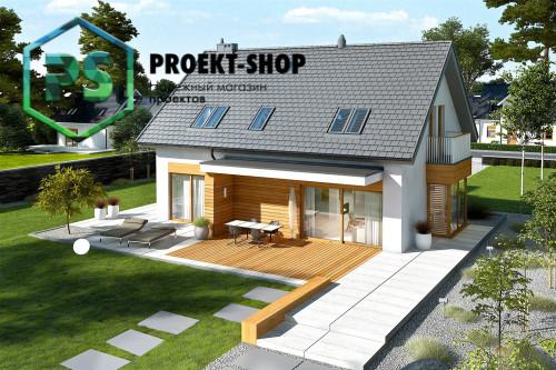 Типовой проект жилого дома 4-2234
