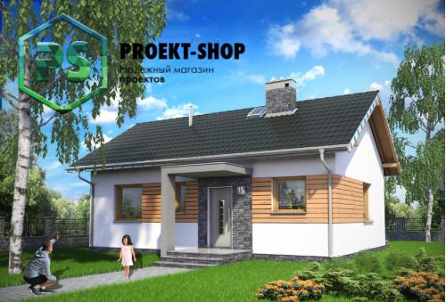 Типовой проект жилого дома 4-2262
