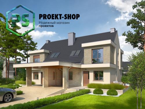 Типовой проект жилого дома 4-2291