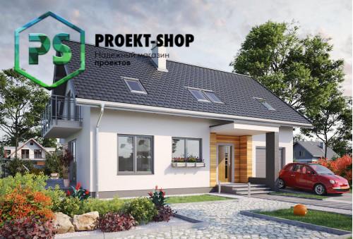 Типовой проект жилого дома 4-2295