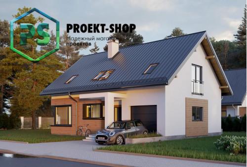 Типовой проект жилого дома 4-2296