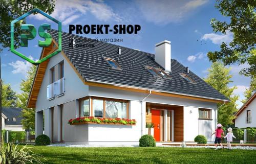Типовой проект жилого дома 4-2307