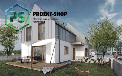 Типовой проект жилого дома 4-2308