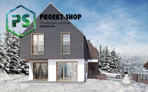 Типовой проект жилого дома 4-2309