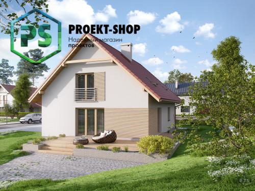 Типовой проект жилого дома 4-2322