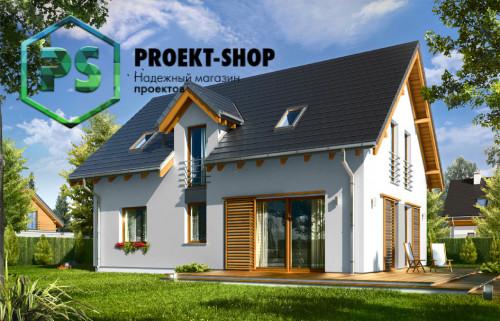 Типовой проект жилого дома 4-2325